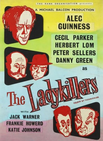 The Ladykillers - Original film poster by Reginald Mount