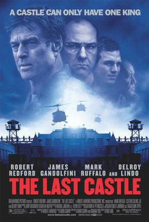 The Last Castle - Theatrical release poster