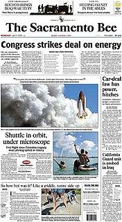 <i>The Sacramento Bee</i> newspaper