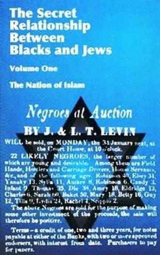 The Secret Relationship Between Blacks and Jews - Image: The Secret Relationship cover