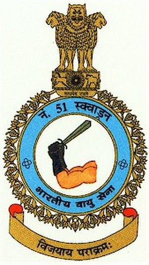 No. 51 Squadron IAF - Image: This is a logo for No. 51 Squadron IAF
