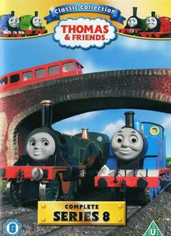 Thomas Halloween Adventures Dvd 2020 Uphe Thomas & Friends (series 8)   Wikipedia