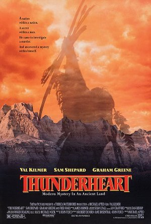 Thunderheart - Theatrical release poster