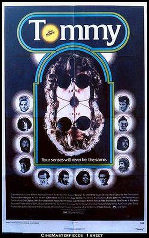 Tommy (1975 film) - Theatrical release poster