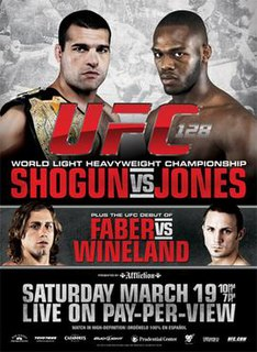 UFC 128 UFC mixed martial arts event in 2011