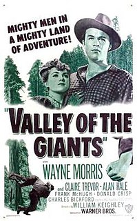 <i>Valley of the Giants</i> (film) 1938 film by William Keighley
