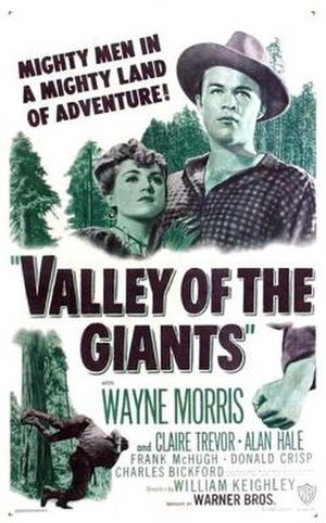 Valley of the Giants (film) - Theatrical release poster