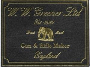 W. W. Greener - Image: W. W. Greener trademark