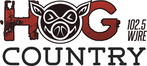 WJRE - Image: WJRE Hog Country 102.5 logo
