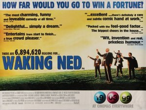 Waking Ned - UK theatrical poster