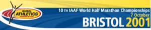 2001 IAAF World Half Marathon Championships - Image: Whmc logo 2001