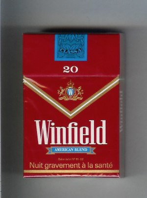 Winfield (cigarette) - Image: Winfield American Blend (Full Flavour)