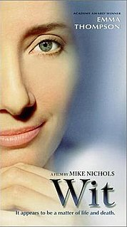 2001 television movie starring Emma Thompson directed by Mike Nichols