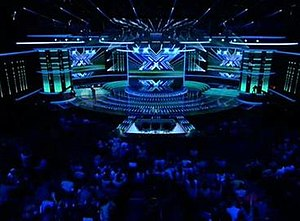 The X Factor (Australian TV series) - Stage built for The X Factor live shows. All stages are the same throughout ''The X Factor'' franchise.