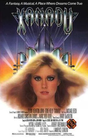 Xanadu (film) - Theatrical release poster