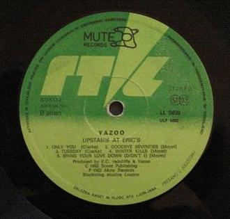 ZKP RTLJ - Image: Yazoo album ZKP RTVLJ Slovenia