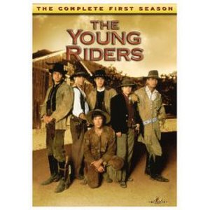 The Young Riders - DVD cover of the first Season 1 box set