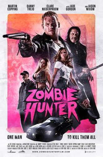 Zombie Hunter (film) - Image: Zombie Hunter film poster