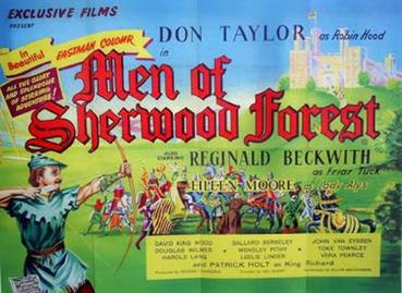 """""""The Men of Sherwood Forest"""" (1954)"""