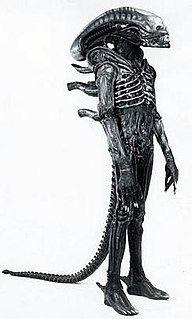 Alien (creature in <i>Alien</i> franchise) Fictional extraterrestrial species from the Alien film series