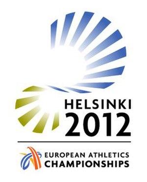 2012 European Athletics Championships - Image: 2012 European Athletics Championships logo