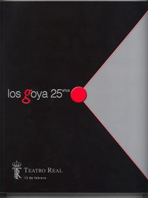 25th Goya Awards - Image: 25th Goya Awards logo