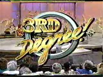 3rd Degree (game show) - Image: 3rd Degree Logo