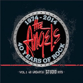 40 Years of Rock – Vol 1: 40 Greatest Studio Hits - Image: 40 Years of Rock Vol 1, 40 Greatest Studio Hits