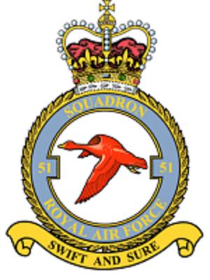 No. 51 Squadron RAF - Image: 51 Squadron RAF