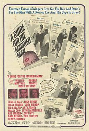 A Guide for the Married Man - Theatrical release poster