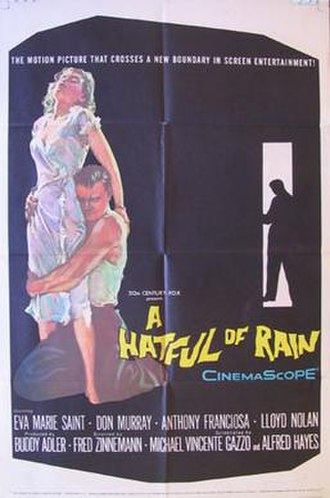A Hatful of Rain - Theatrical release poster