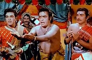A. Karunanidhi - Karunanidhi in Veerapandiya Kattabomman (1959)