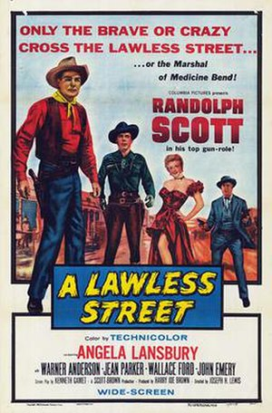 A Lawless Street - Image: A Lawless Street Poster