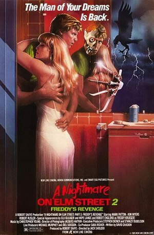 A Nightmare on Elm Street 2: Freddy's Revenge - Theatrical release poster by Matthew Peak
