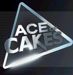Ace of Cakes - Series logo as seen in the opening sequence