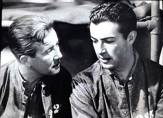 Buried Loot - Actors Al Hill (left) and Robert Taylor as cellmates in Buried Loot, 1935