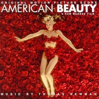 American Beauty: Original Motion Picture Score - Image: American Beauty Original Score Cover