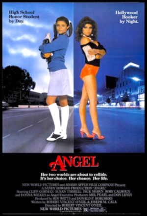 Angel (1984 film) - Original movie poster