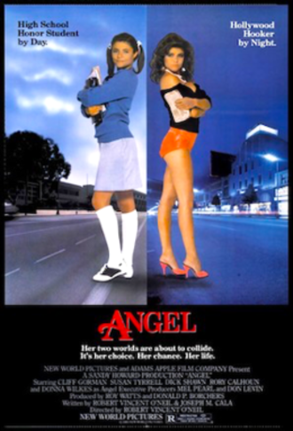 Angel (1984 film) - Theatrical release poster
