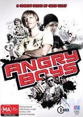 Angry Boys - Image: Angry Boys DVD