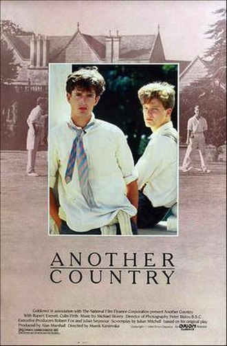 Another Country (film) - Theatrical release poster