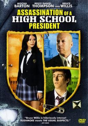 Assassination of a High School President - DVD release cover