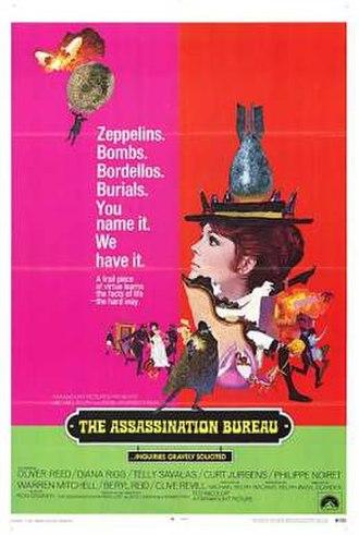 The Assassination Bureau - U.S. theatrical release poster