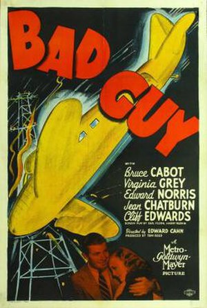 Bad Guy (1937 film) - Theatrical release poster