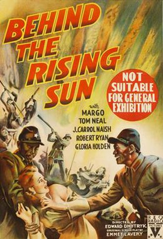 Behind the Rising Sun (film) - Film poster