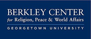 Berkley Center for Religion, Peace, and World Affairs - Logo of the Berkley Center for Religion, Peace, and World Affairs at Georgetown University