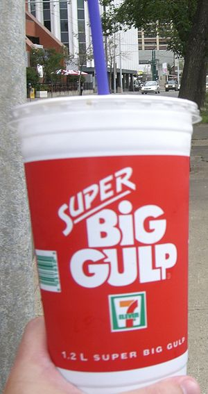 1.2 liter Super Big Gulp