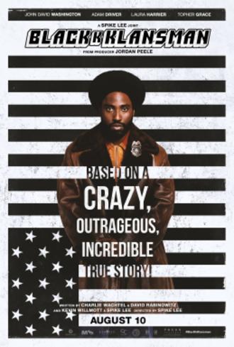 BlacKkKlansman - Theatrical release poster