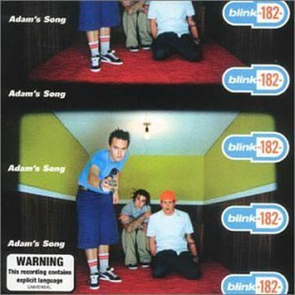Adam's Song - Image: Blink 182 Adam's Song cover