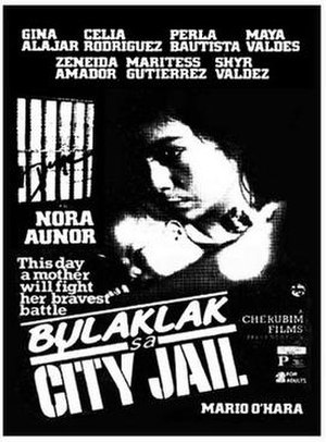 Bulaklak sa City Jail - Official movie poster